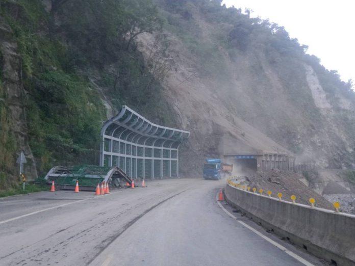 梅蘭明隧道搶通