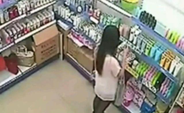 陝西女子偷竊