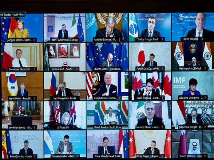 G20線上峰會