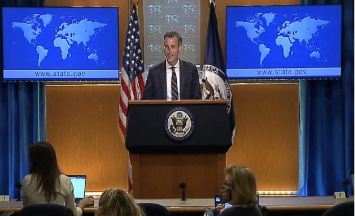 美國國務院發言人普萊斯