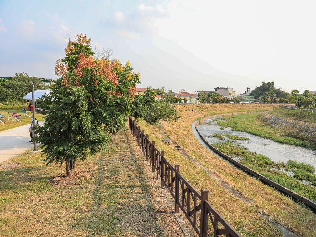 旱溪排水水利園區啟用