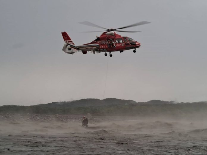 直升機救援